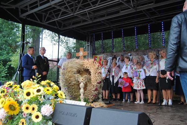Dożynki gminne w Kurzelowie 2017