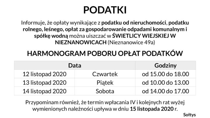 Podatki IV rata 2020